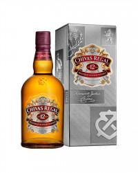 Виски Chivas Regal 12 YO (0,7 л)