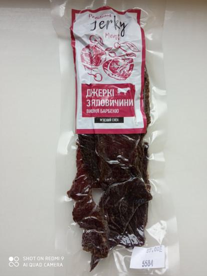 PREMIUM JERKY MEAT с говядины (вишня и барбекю) ( 50 Г)
