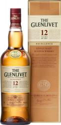 Виски The Glenlivet Excellence 12 YO (0,7 л)