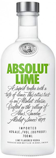 Водка ABSOLUT Lime (0,7 л)