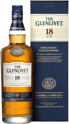 Віскі The Glenlivet 18 YO (0,7 л)