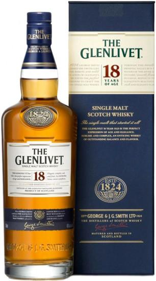 Виски The Glenlivet 18 YO (0,7 л)