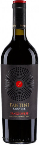 "Вино ИТАЛИЯ Farnese ""Fantini"" Sangiovese красное сухое (0,75)"
