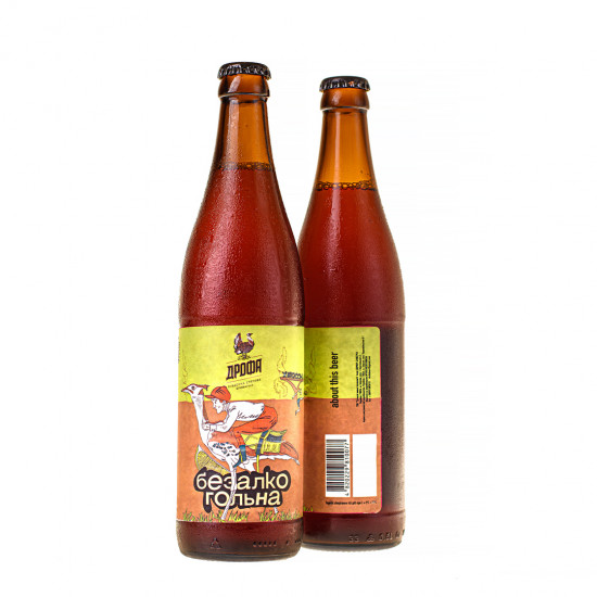 "Пиво ""Дрофа Безалкогольна"" светлое СТЕКЛО (0,5)"
