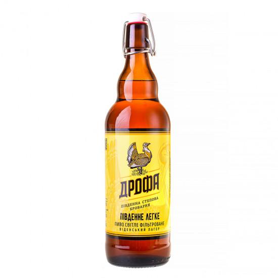 """Пиво """"Південне Легке"""" фильтрованное (бугельная бутылка)"""