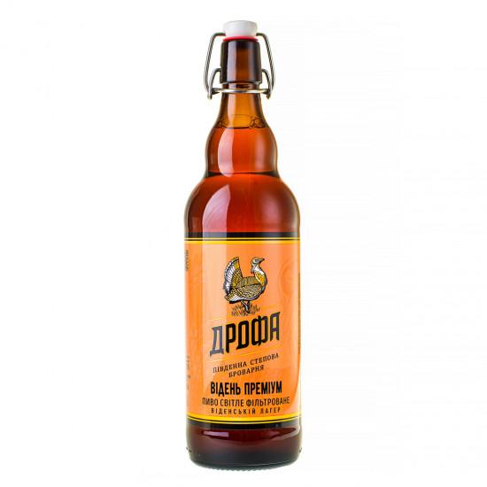 """Пиво """"Відень Преміум"""" фильтрованное (бугельная бутылка)"""