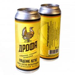 """Пиво """"Південне Легке"""" фільтроване ЖБ"""