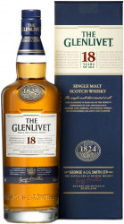 Виски The Glenlivet 18 YO (0,7 л)