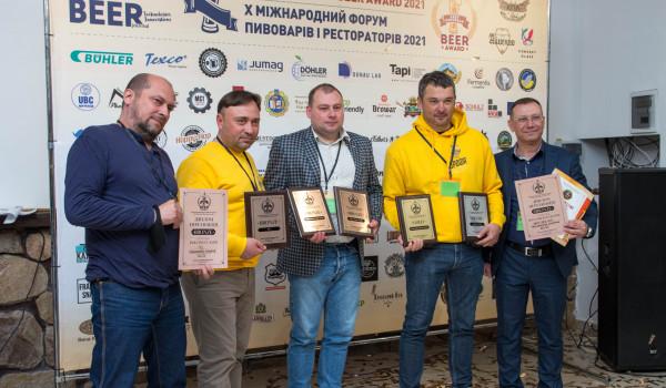 Південна степова броварня «Дрофа» завойовує відзнаки на V Дегустаційному конкурсі East European Beer Award 2021!