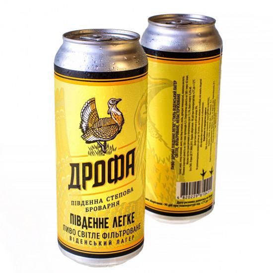 """Пиво """"Південне Легке"""" фильтрованное ЖБ"""